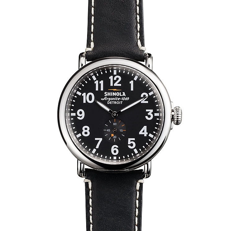 Shinola Runwell Men's Stainless Steel Strap Watch - Product number 5696577