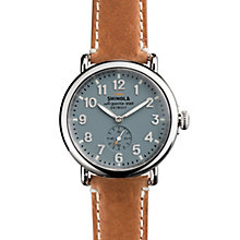 Shinola Runwell Men's Stainless Steel Strap Watch - Product number 5696585