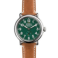 Shinola Runwell Men's Stainless Steel Strap Watch - Product number 5696593