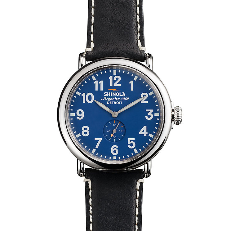 Shinola Runwell Men's Stainless Steel Strap Watch - Product number 5696607
