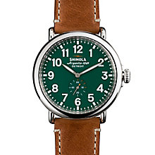 Shinola Runwell Men's Stainless Steel Strap Watch - Product number 5696623