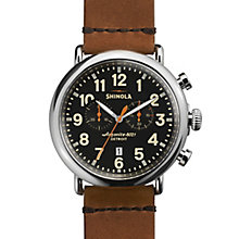 Shinola Runwell Men's Stainless Steel Strap Watch - Product number 5696631