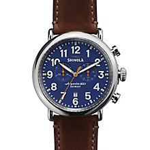 Shinola Runwell Men's Stainless Steel Strap Watch - Product number 5696658