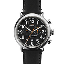 Shinola Runwell Men's Stainless Steel Strap Watch - Product number 5696674