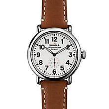 Shinola Runwell Men's Stainless Steel Strap Watch - Product number 5696704