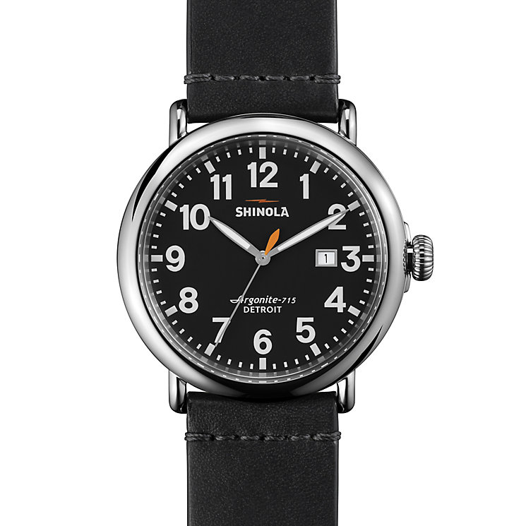 Shinola Runwell Men's Stainless Steel Strap Watch - Product number 5696720