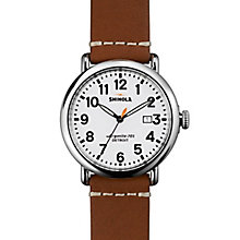 Shinola Runwell Men's Stainless Steel Strap Watch - Product number 5696739