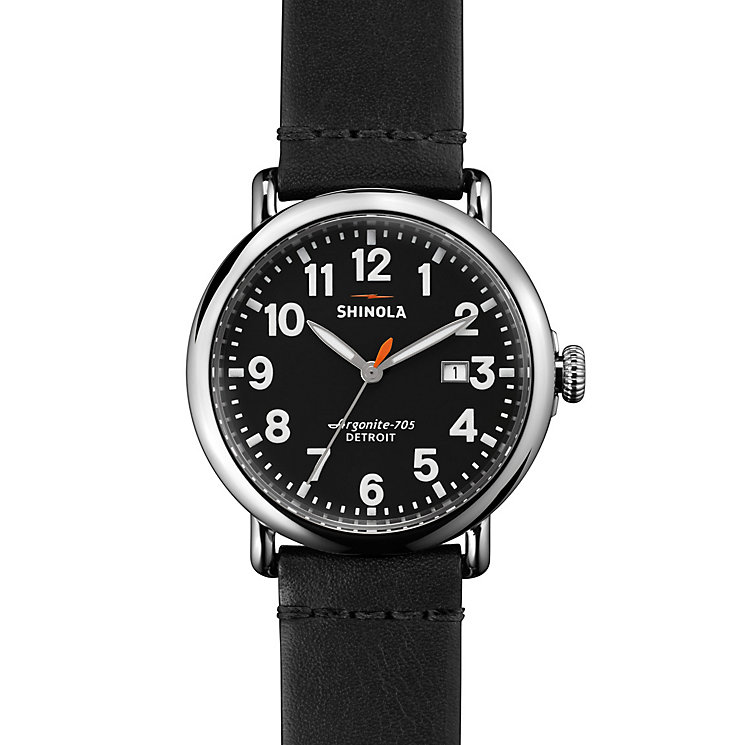 Shinola Runwell Men's Stainless Steel Strap Watch - Product number 5696747