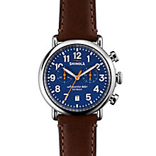 Shinola Runwell Men's Stainless Steel Strap Watch - Product number 5696771
