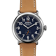 Shinola Runwell Men's Stainless Steel Strap Watch - Product number 5696798
