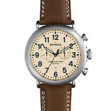 Shinola Runwell Men's Stainless Steel Strap Watch - Product number 5696917
