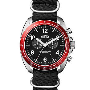 Shinola Rambler Men's Stainless Steel Strap Watch - Product number 5696976