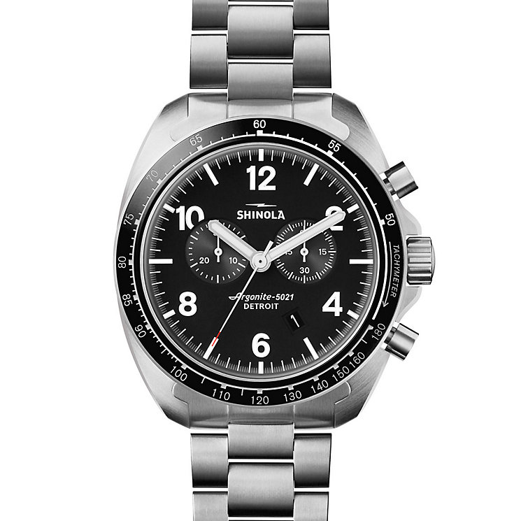 Shinola Rambler Men's Stainless Steel Bracelet Watch - Product number 5696992