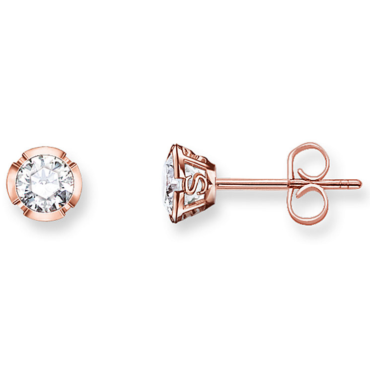Thomas Sabo Rose Gold Plated Stud Earrings - Product number 5698006