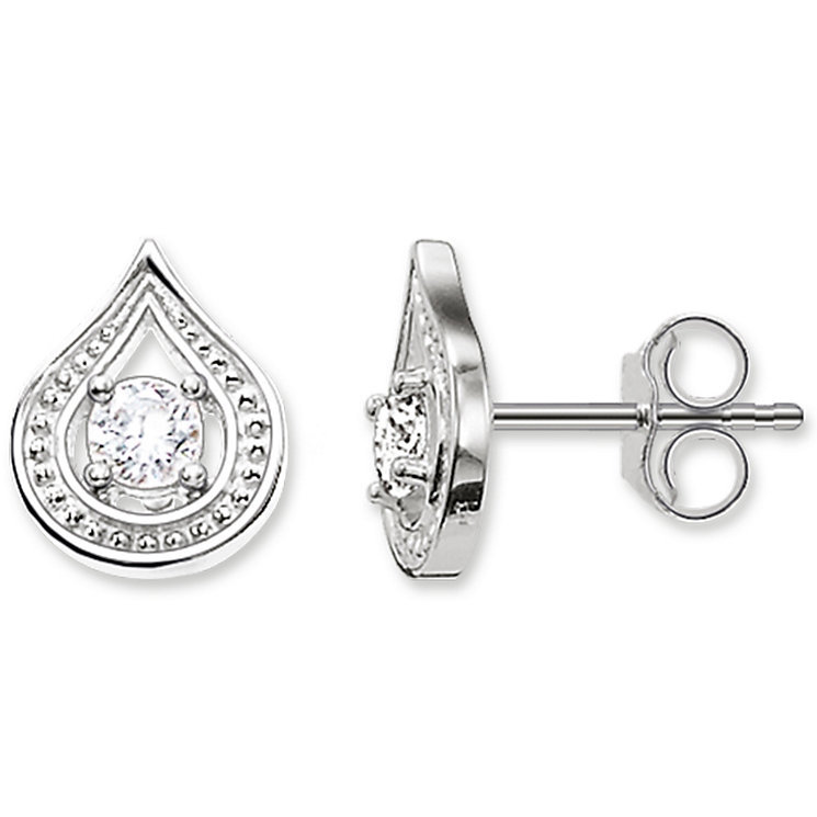 Thomas Sabo Sterling Silver Stone Set Stud Earrings - Product number 5698014