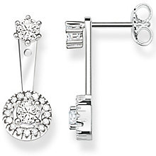 Thomas Sabo Sterling Silver Drop Stud Jacket Earrings - Product number 5698103