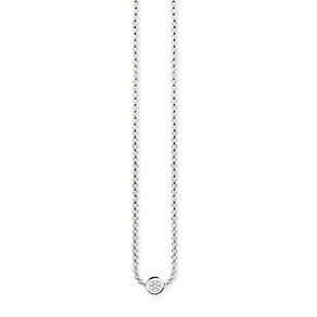 Thomas Sabo Sterling Silver Diamond Nekclace - Product number 5698650