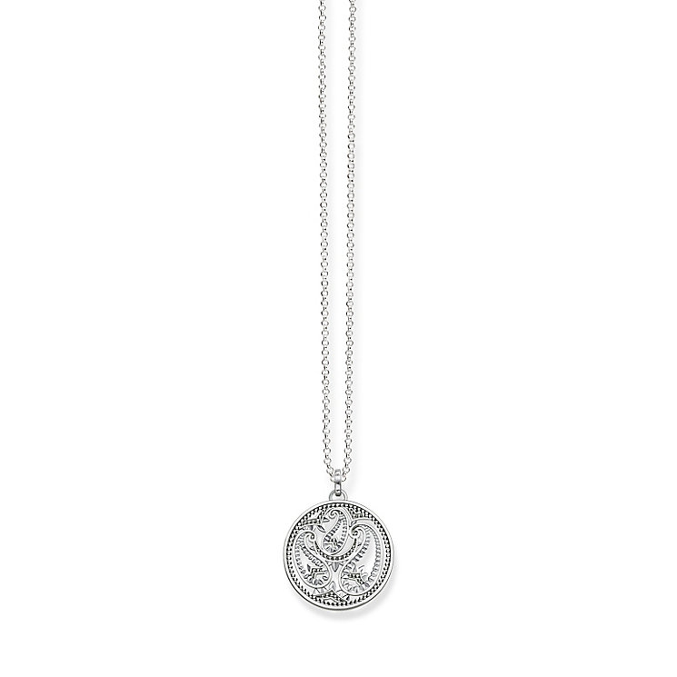 Thomas Sabo Sterling Silver Filigree Necklace - Product number 5698863