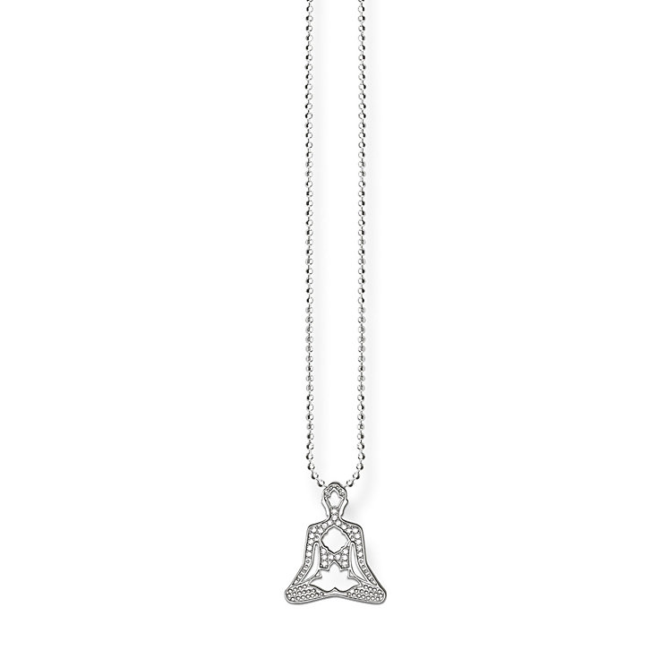 Thomas Sabo Sterling Silver Yoga Necklace - Product number 5698901