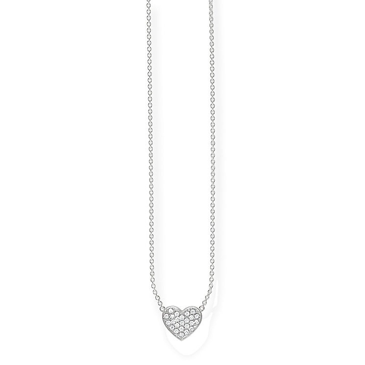 Thomas Sabo Sterling Silver Classic Heart Necklace - Product number 5698928