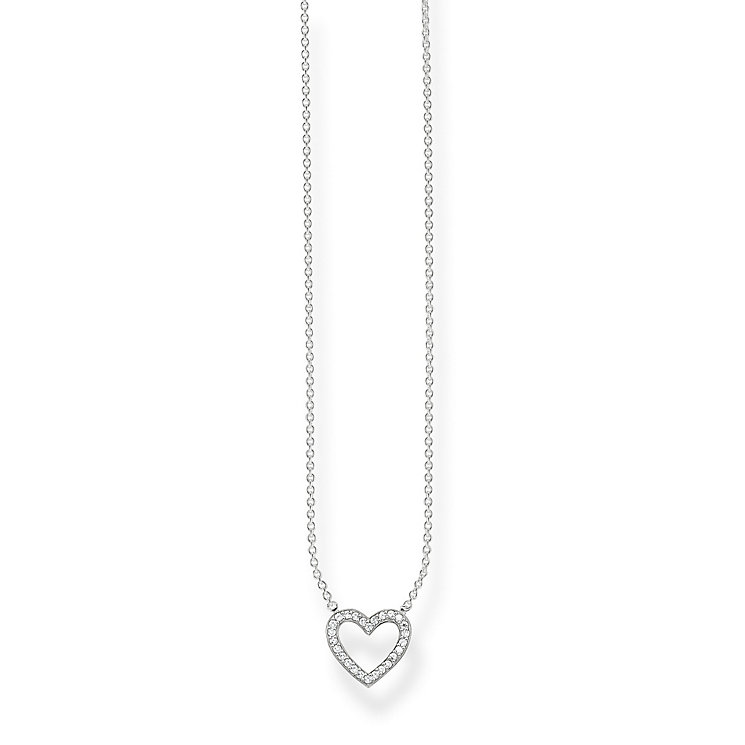 Thomas Sabo Sterling Silver Classic Heart Necklace - Product number 5698936