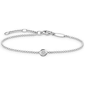 Thomas Sabo Sterling Silver Diamond Bracelet - Product number 5699320