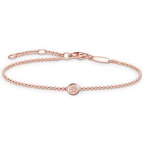 Thomas Sabo Rose Gold Plated Diamond Bracelet - Product number 5699339