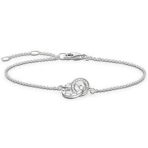 Thomas Sabo Sterling Silver Diamond Bracelet - Product number 5699347