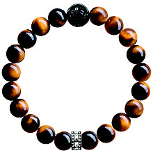Thomas Sabo Men's Tiger Eye Bead Bracelet - Product number 5699398