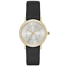 DKNY Ladies' Gold Tone Strap Watch - Product number 5705010