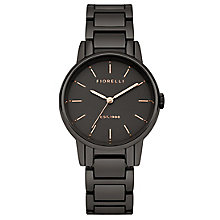 Fiorelli Ladies' Gun Metal Bracelet Watch - Product number 5707161