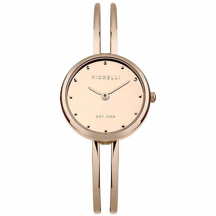 Fiorelli Ladies' Rose Gold Bracelet Watch - Product number 5707196