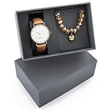 Fiorelli Ladies' Tan Leather Strap Watch - Product number 5707234