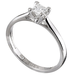The Forever Diamond - 18ct White Gold 1/5 Carat Ring - Product number 5708710