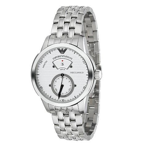 Emporio Armani Meccanico mens automatic watch