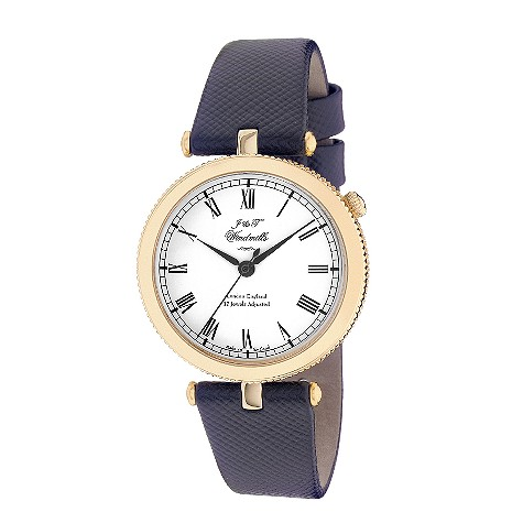 J & T Windmills ladies' 18ct gold mechanical watch