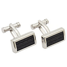 Ted Baker Stainless Steel Leather Cufflinks - Product number 5709547