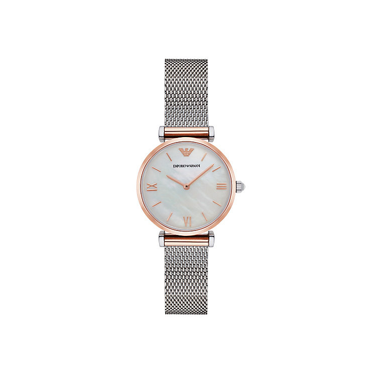 Emporio Armani Ladies' Two Colour Bracelet Watch - Product number 5709717