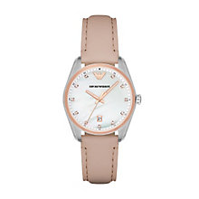 Emporio Armani Ladies' Two Colour Strap Watch - Product number 5709725