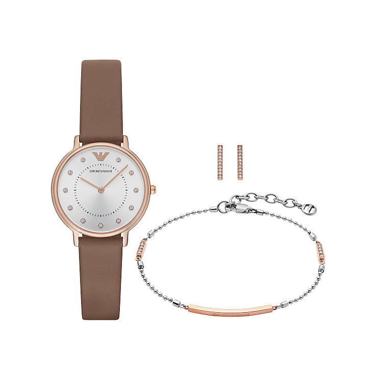 Emporio Armani Ladies' Jewellery & Watch Set - Product number 5709733