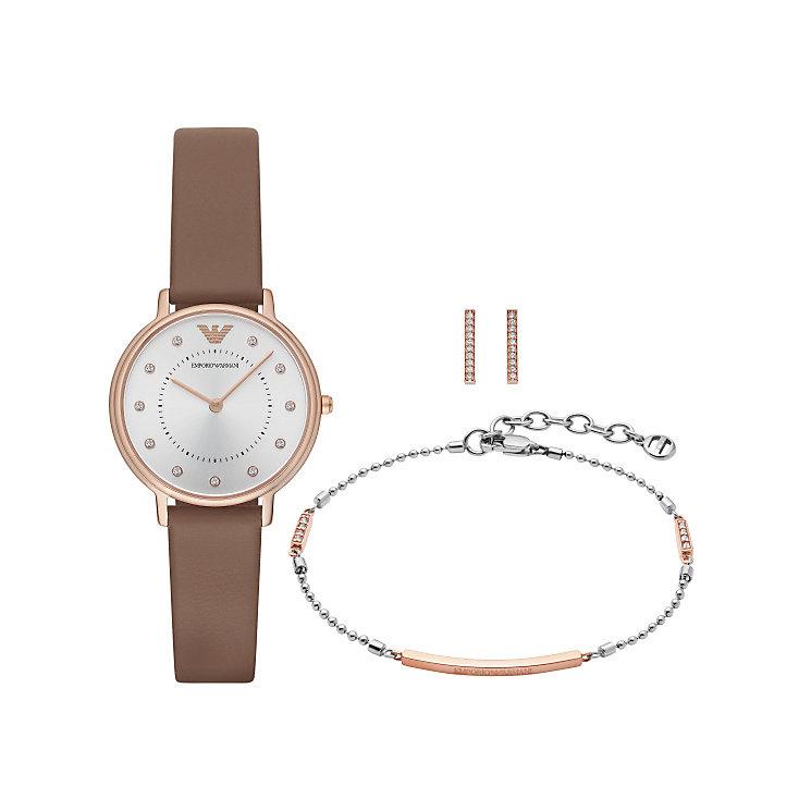 Emporio Armani Ladies' Jewellery & Watch Set - Product number 5709733