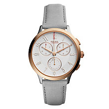Fossil Ladies' Two Colour Strap Watch - Product number 5709822