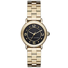 Marc Jacobs Riley Ladies' Gold Tone Bracelet Watch - Product number 5710081