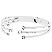 Michael Kors Stainless Steel Stone Set Bangle - Product number 5710537
