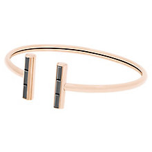 Michael Kors Rose Gold Tone Open Bangle - Product number 5710553