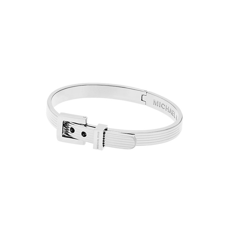 Michael Kors Heritage Stainless Steel Buckle Bangle - Product number 5710596