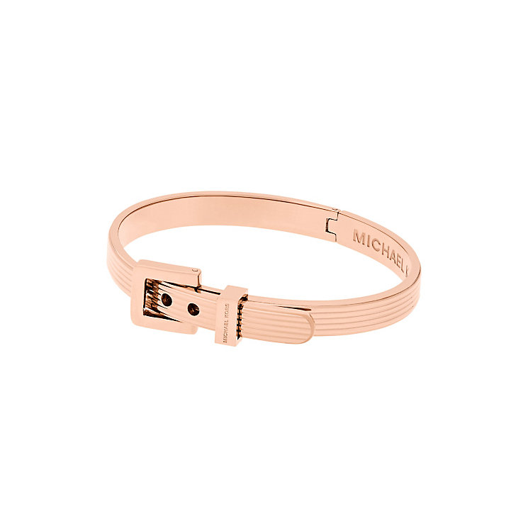 Michael Kors Heritage Rose Gold Tone Buckle bangle - Product number 5710618