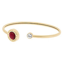 Michael Kors Gold Tone Stone Set Bangle - Product number 5710626