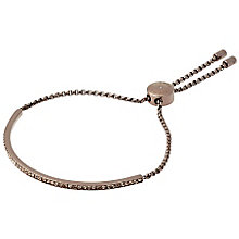 Michael Kors Brown Ion Plated Stone Set Bracelet - Product number 5710642