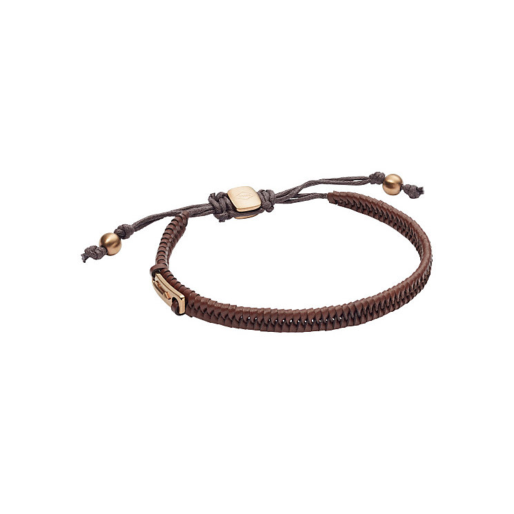 Fossil Men's Brown Leather Bracelet - Product number 5710855